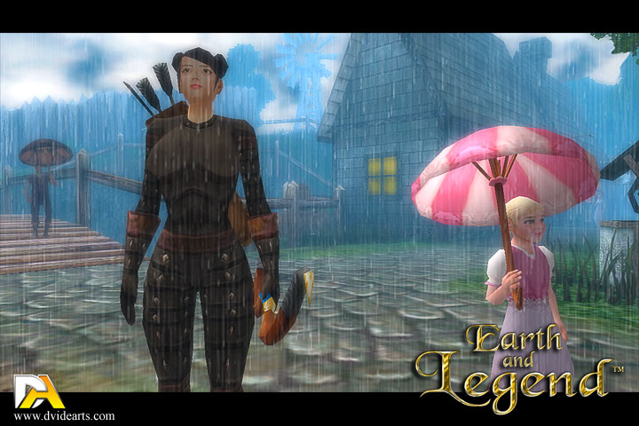 Earth And Legend Rain