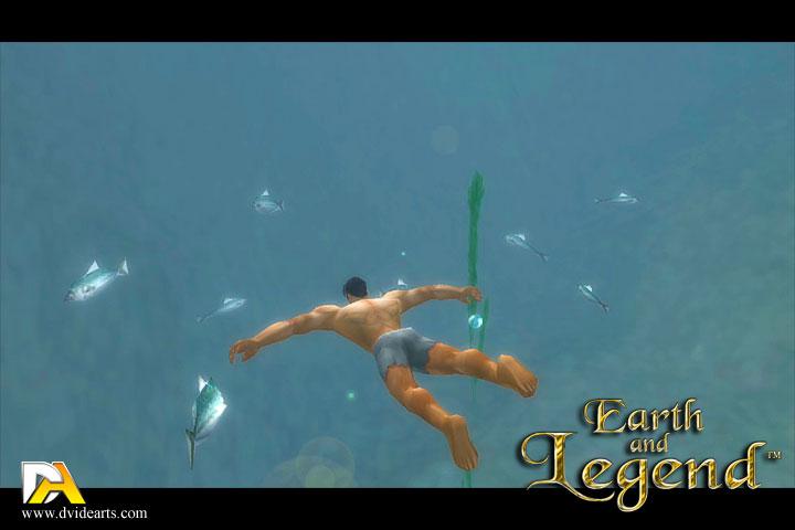 تحديث اللعبة المغامرات  RPG الرائعه Earth And Legend v1.0.9  بجرافيك 3D